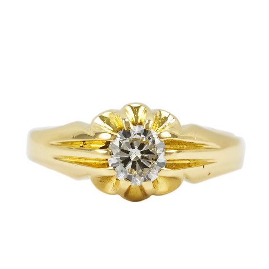 Fine Diamond Gents Signet Ring