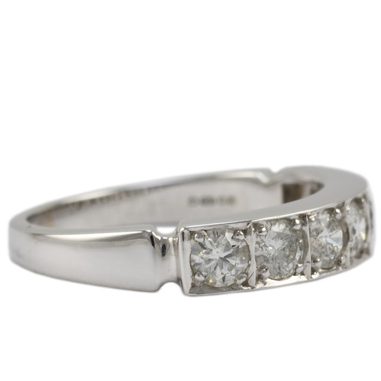 18ct White Gold 1ct Diamond Eternity Ring