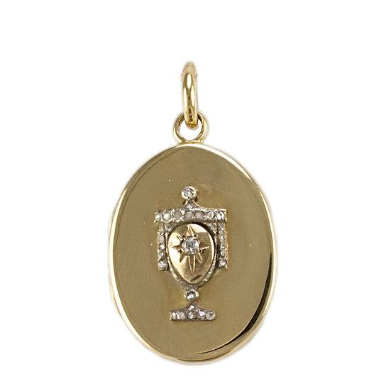 18ct Victorian Locket - SOLD