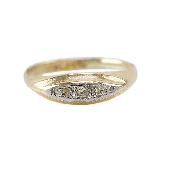 18ct Diamond five stone ring
