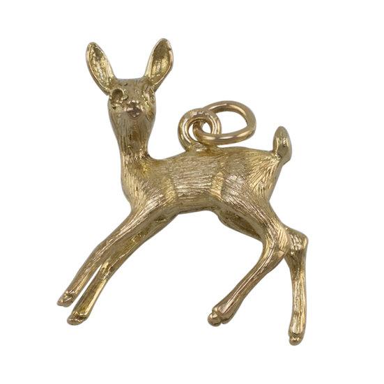"9ct ""Bambi"" Charm"