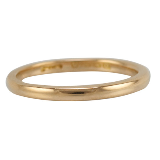 22ct Antique Wedding Band