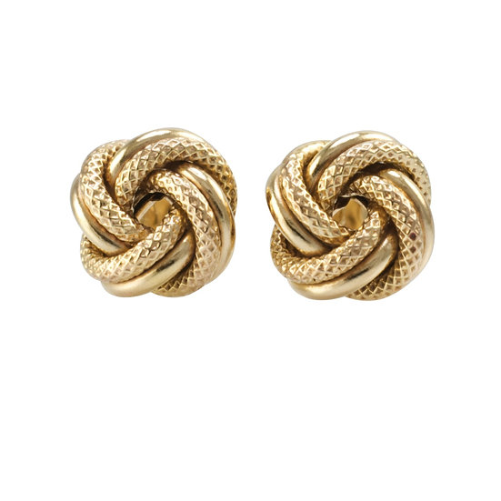 9ct Pre-owned Knot Earrigns