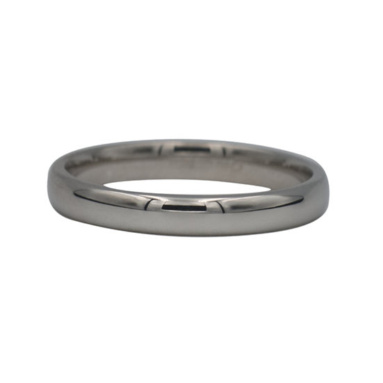 18ct White Gold Preowned Wedding Band