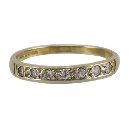 9ct Pre-owned Diamond Ring