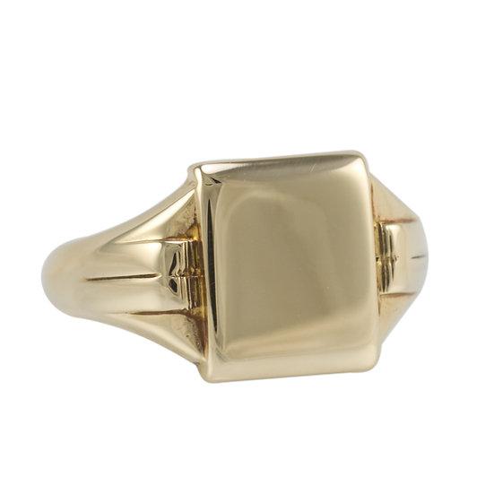 9ct Retro Signet Ring - SOLD