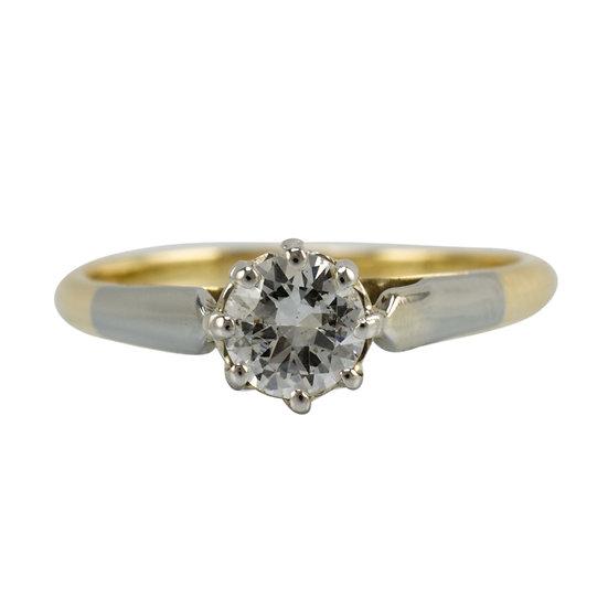 18ct & Platinum Engagement Ring