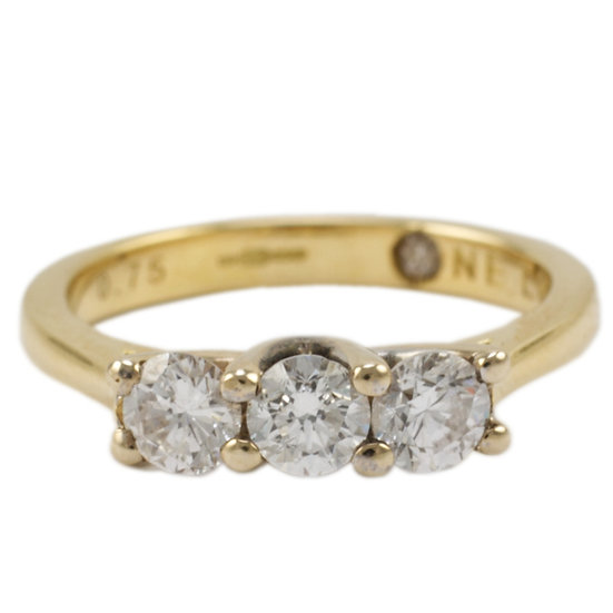 18ct Yellow Gold Trilogy 'One Love' - RESERVED