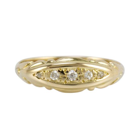 Antique 18ct Diamond Ring