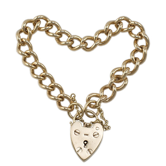 9ct Curb Bracelet - SOLD