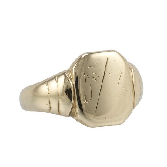 Vintage 9ct Signet Ring - SOLD