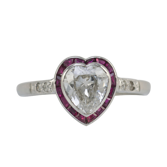 Art Deco 1.05ct Diamond Ring - SOLD