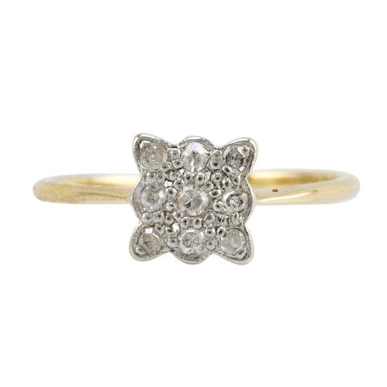 Art Deco Diamond Ring - SOLD