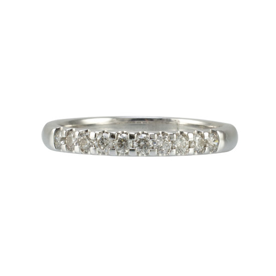 9ct White Gold 1/3 Eternity Ring