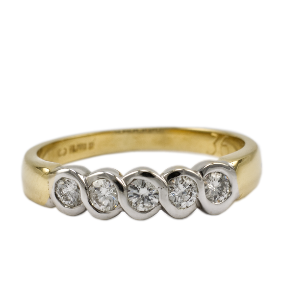 18ct Gold Diamond Eternity Ring - SOLD