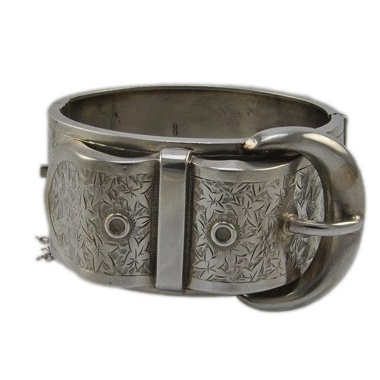 Victorian Silver Bangle