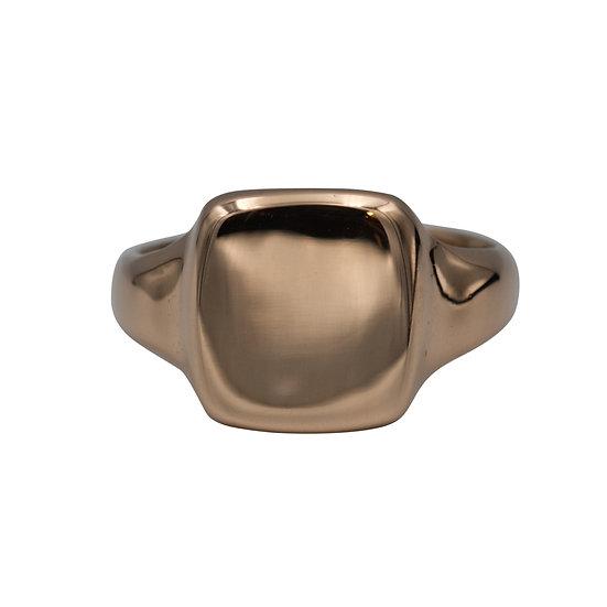 9ct Rose Gold Antique Signet Ring - RESERVED