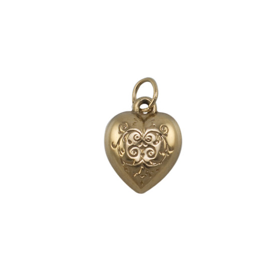 9ct Heart Charm - SOLD