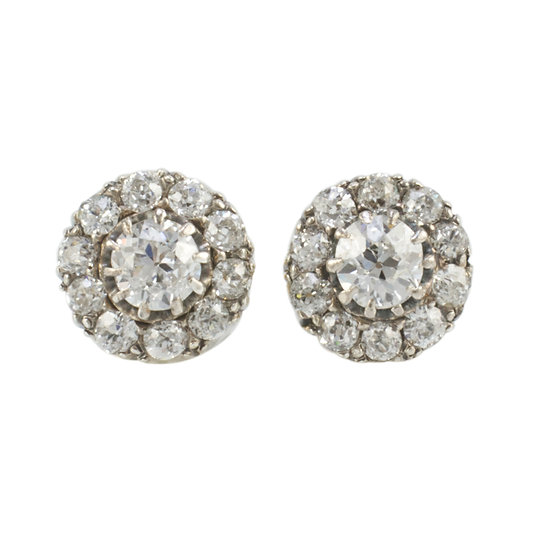 Victorian Diamond Cluster Rings - SOLD