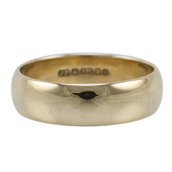 9ct Vintage Wedding Ring