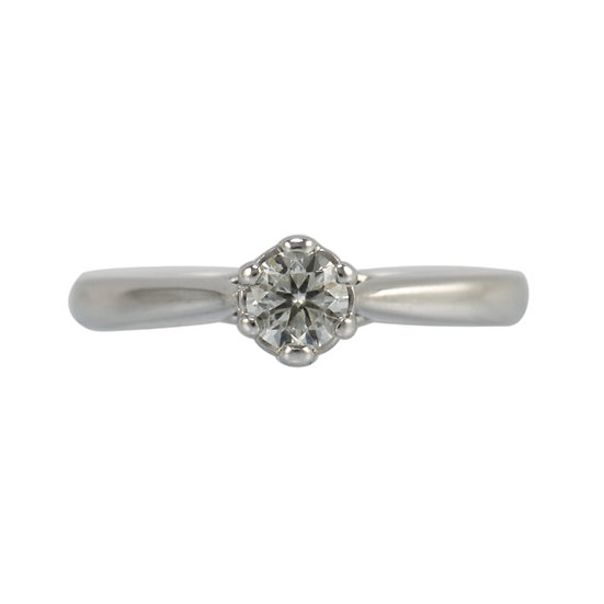18ct White Gold Engagement Ring - SOLD
