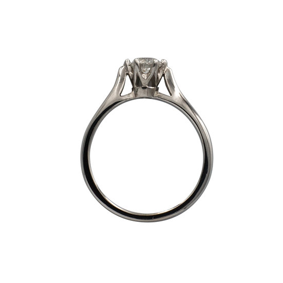 18ct White Gold 0.33ct Solitaire - SOLD