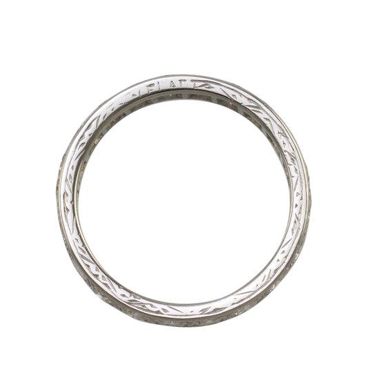 Vintage Platinum Eternity Ring - SOLD
