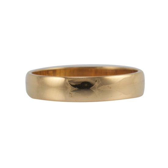22ct Antique Wedding Ring