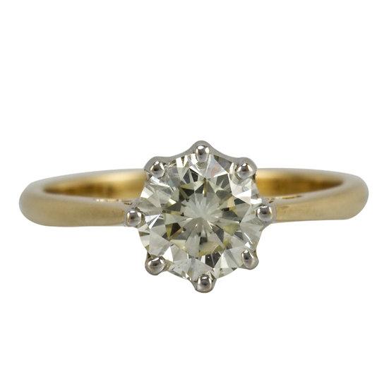 1.35ct Brilliant Cut Diamond Engagement Ring - SOLD