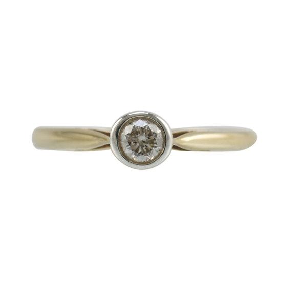 9ct 0.15ct Diamond Solitaire - SOLD