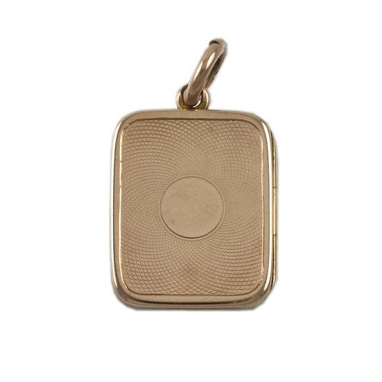 10kt Rose Gold Locket - SOLD