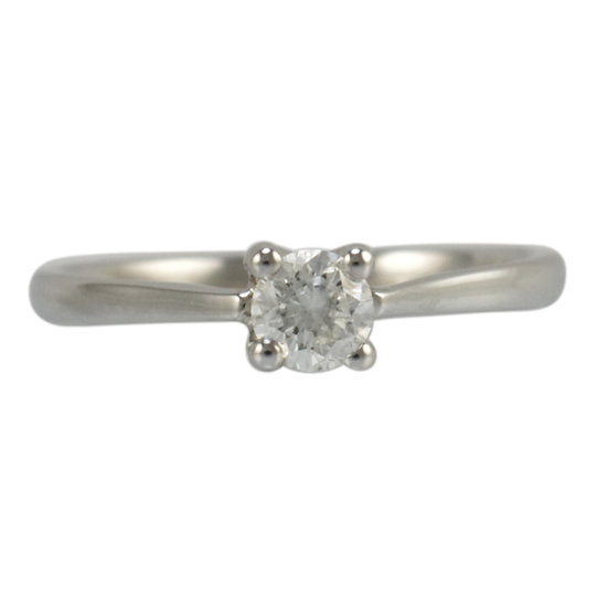 18ct White Gold 0.33ct Diamond