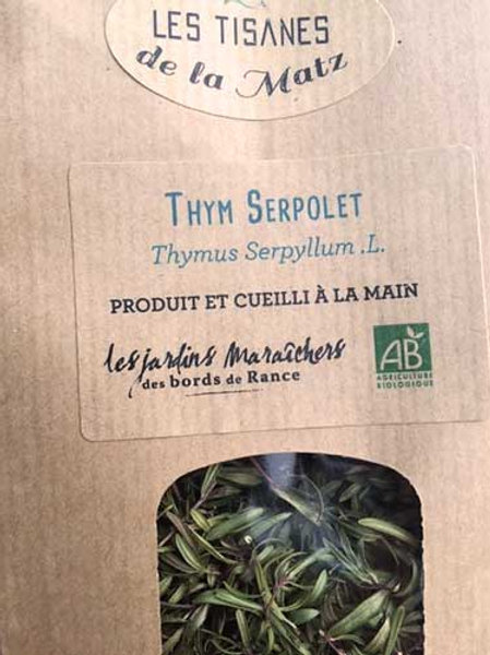 Tisane Thym Serpolet