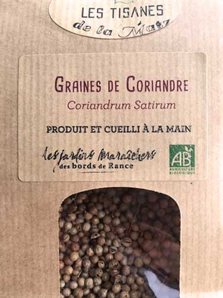 Tisane de Graine de Coriandre