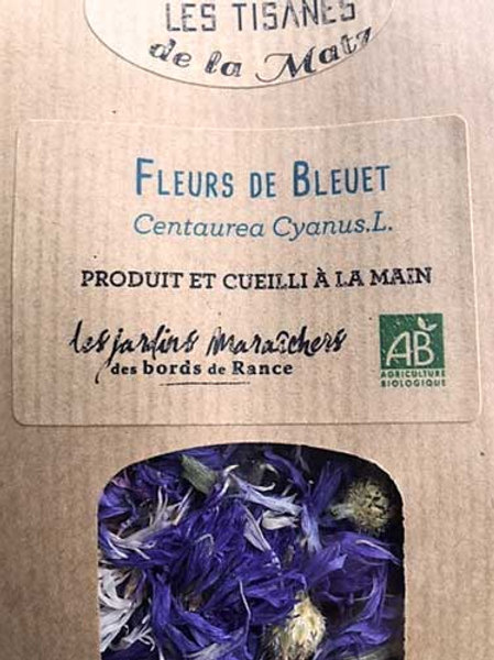Tisane de Fleurs de Bleuet