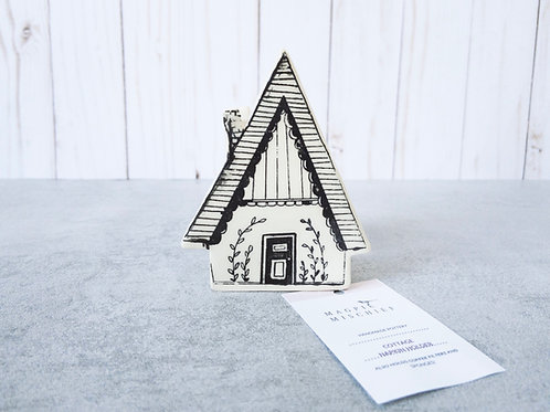 Cottage Sponge Holder by Magpie Mischief