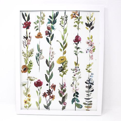 Hanging Floral Print