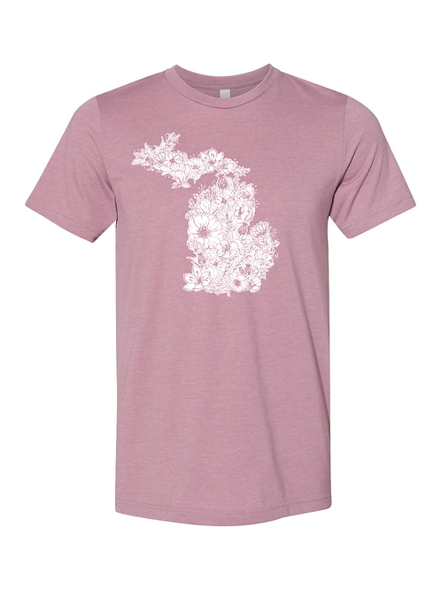 MI Flower Short-Sleeve Shirt by Northeast Print House