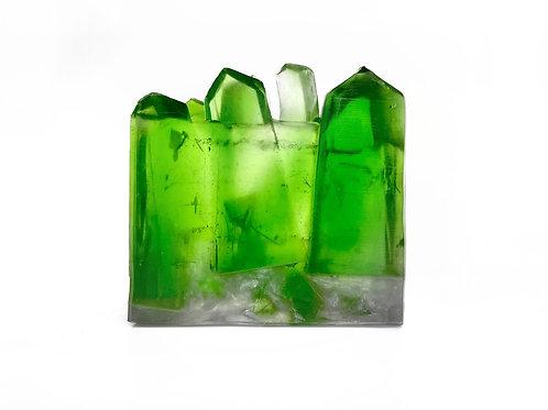Emerald Gemstone Soap by House of Korē