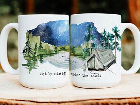 Sleep Under the Stars Mug by Brush & Timber
