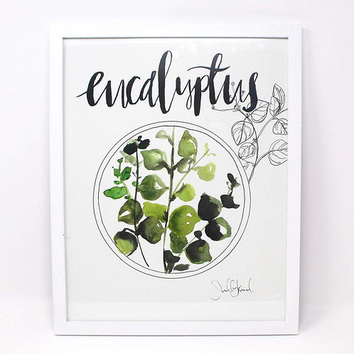 Eucalyptus Print