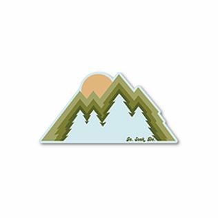Tree Peaks Sticker by SEEK