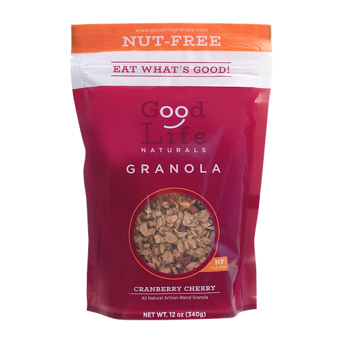 Cranberry Cherry Nut-Free Granola by Good Life Naturals