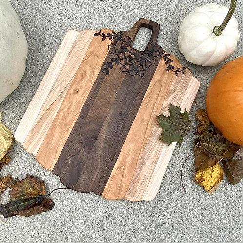 Pumpkin Cutting Board by Lady Wood Goods