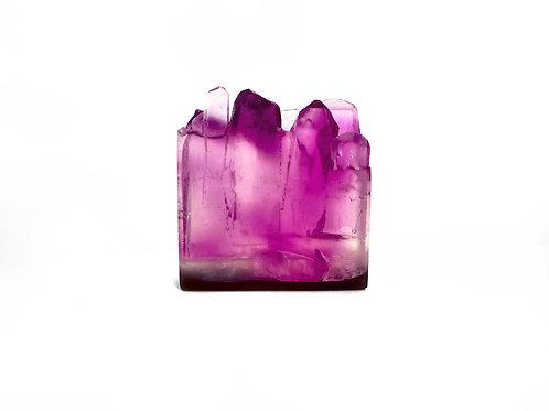 Amethyst Gemstone Soap by House of Korē