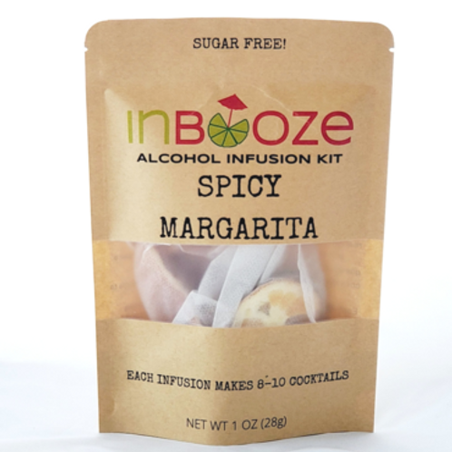 Spicy Margarita Infusion Kit by InBooze
