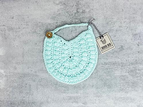 Crocheted Boho Baby Bib