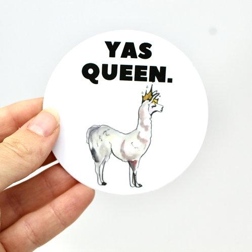 Yas, Queen! Sticker