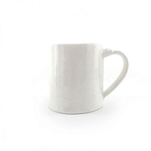 White Mug by Magpie Mischief