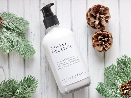 Winter Solstice Body Lotion by Wicked Soaps Co.